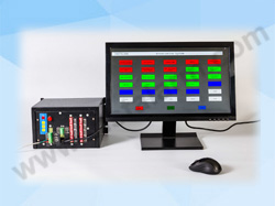 Programmable Annunciator with LCD Monitor